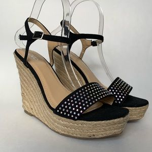CATO Studded Wedges